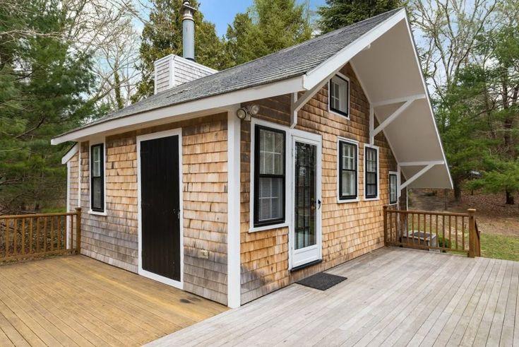 Крошечный домик(32 м2) с большой кухней: план дома ...