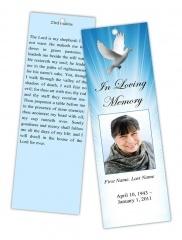 memorial bookmarks template free - 8 best top memorial bookmark template designs images on