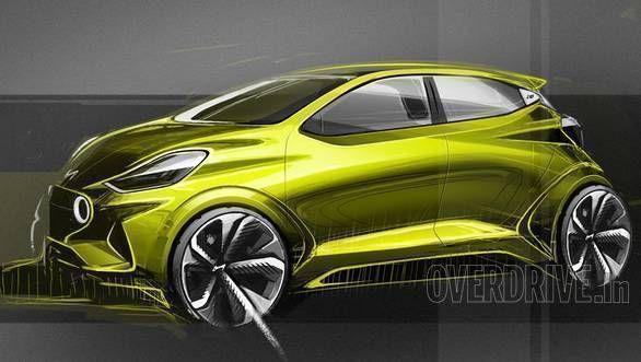 Image Gallery Hyundai Grand I10 Nios Design Sketches 자동차
