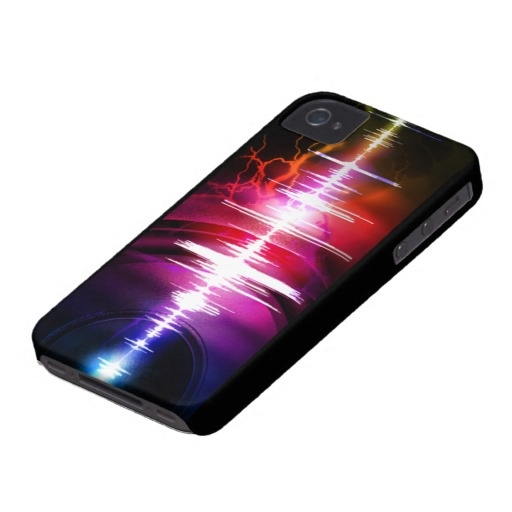 Case-Mate iPhone 4 Barely There Universal Case - sound effect design  All products with this design you can find here: http://www.zazzle.com/ann_geldesign/gifts?gp=105638676638730276