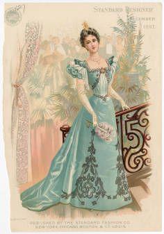 BIRDIE OR ZAN ACT I. Women 1897-1899, Plate 070 :: Costume Institute Fashion Plates