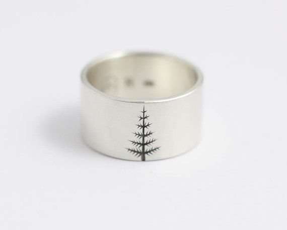 Hey, I found this really awesome Etsy listing at https://www.etsy.com/listing/104195146/wedding-band-oregon-pine-in-sterling