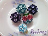 Tutorial : Bead Bead #2: Crafts Ideas, Beads Beads, Beads Tutorials, Seeds Beads, A Beads Patterns, Diy Tutorials, Beads Beadwork, Beads Ball, Crosses Patterns