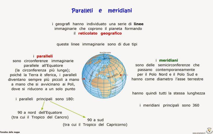 Paradiso delle mappe: Geografia 1 media