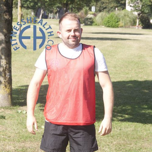 FH Team Sports Training Bibs Set of 5