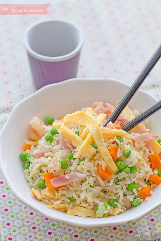 arroz tres delicias casero