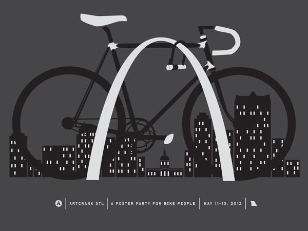 great poster for ArtCrank STL this weekend 5/11-13/2012