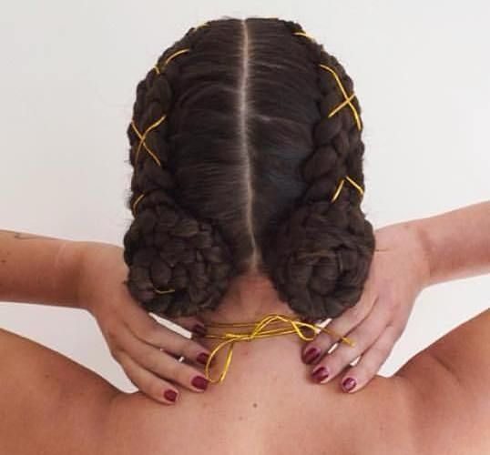 Two+Braided+Side+Buns