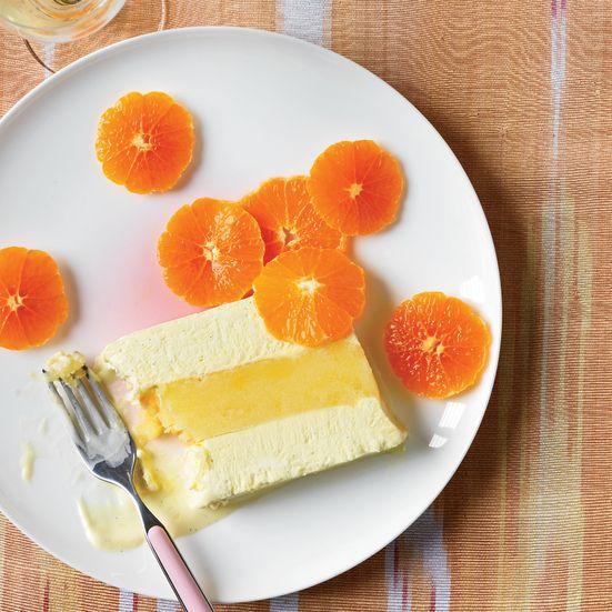 Sorbet à la vanille et orange avec thermomix
