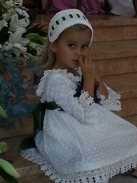#Damita ideal con vestido de #plumeti.