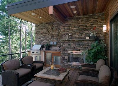Contemporary Porch with Banded 1 Light Small Outdoor Sconce  Wrap around  porch  Outdoor kitchen  M Rock Brown Stone Veneer62 best Outdoor Room Ideas images on Pinterest   Outdoor rooms  . Outside Living Area Ideas. Home Design Ideas
