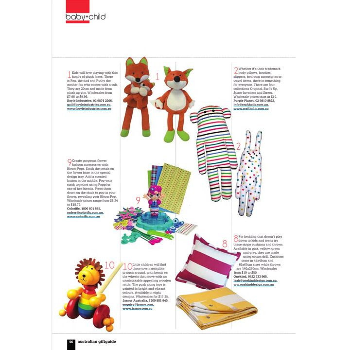 Our Cherry Stripe cushion and Taxi Stripe Bed Throw features in the Australian Giftguide x #cushions #bedding #kidsbedding #bedthrows #australiangiftguide #perfectgifts #stripes #onekind