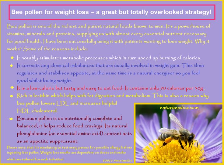 Bee pollen for weight loss - a great but totally overlooked strategy!