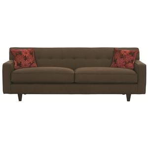 shop for the rowe dorset sofa with wood legs at belfort furniture your washington dc northern virginia maryland and fairfax va furniture u0026 mattress