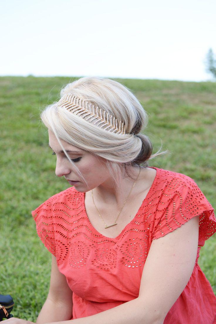 Headband Hair Tuck - tutorial included