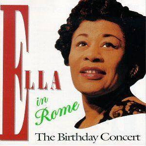 Ella Fitzgerald: Ella in Rome, 1958