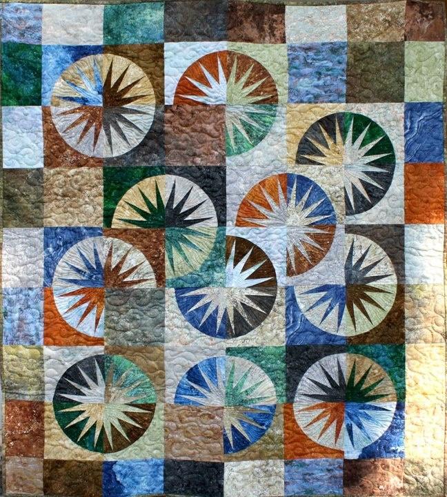 Desert Sky: Desert Stars Quilts, Quilts Blocks, Niemeyer Quilts, Quilts Stars, Desert Sky, Niemeyer Desert, Ev Quilts, Judy Niemeyer, Sky Quilts Pc