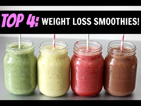 BEST HOMEMADE SMOOTHIES FOR WEIGHT LOSS! - YouTube