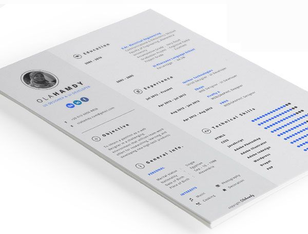 10 best Free \ Premium Resume Design Templates images on Pinterest - photography resume sample
