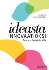 ideasta Innovaatioksi book about ideas and innovation. i have also written a chapter in this book.