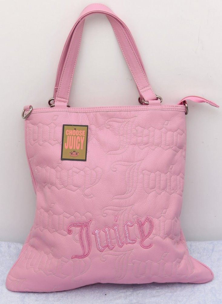 Сумка Juicy Couture розовая из искуственной кожи 38х40х15см #220    Сумка Juicy Couture розовая из искуственной кожи 38х40х15см #220
