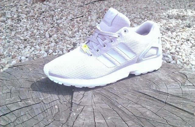 Adidas Flux Triple White