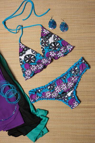www.amarayodeamor.com Vestido de baño 2 piezas