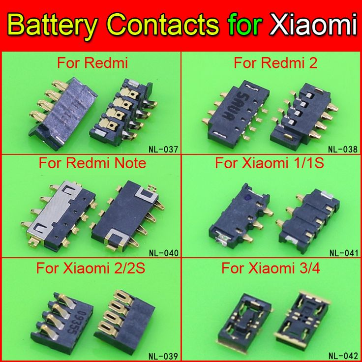 Epic  models Inner Battery Connector Clip Contact replacement for Xiaomi s A S