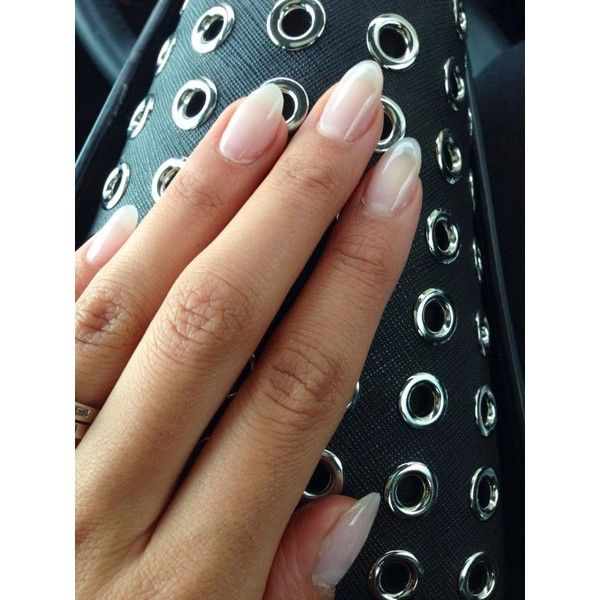 25 best ideas about almond nails french on pinterest