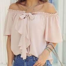 Los diseños más trendy de blusas campesinas 2017 2
