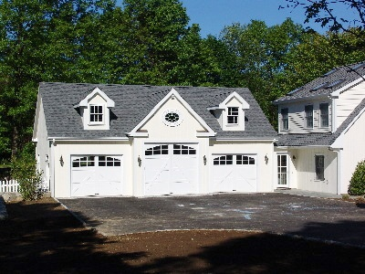 68 best detached garage images on pinterest driveway for Custom detached garage
