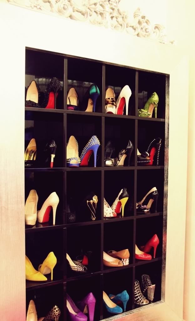 fancy shoe cubbies i need this u003c
