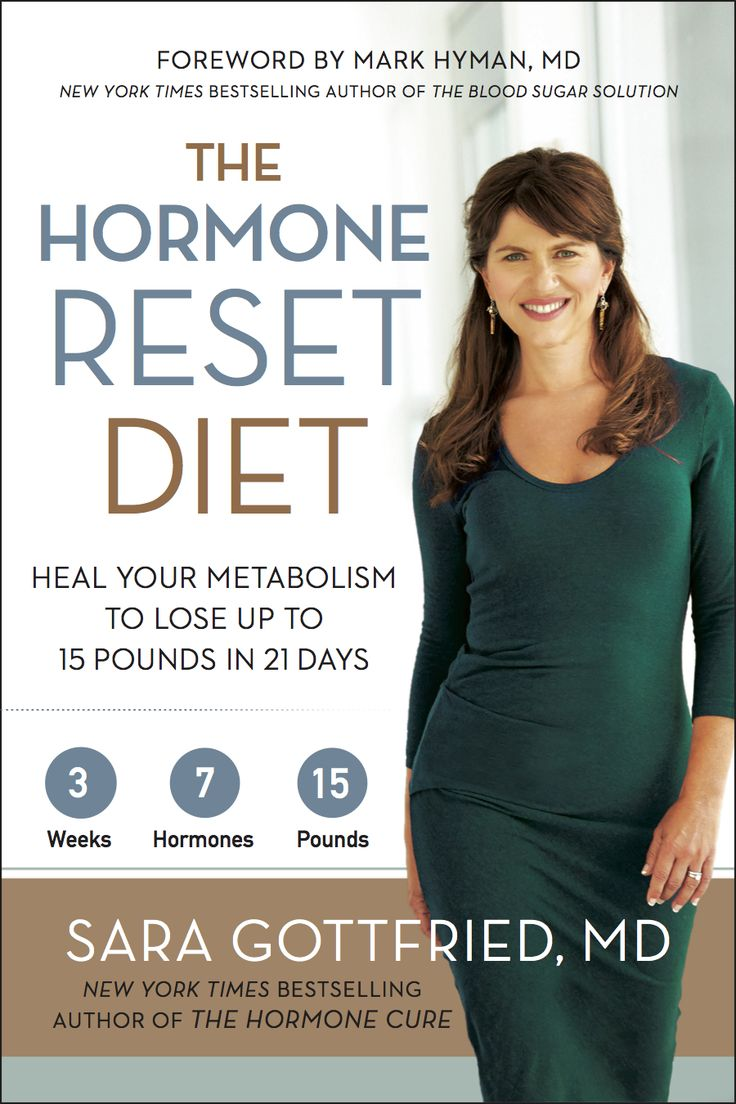 The Hormone Reset Diet by Dr. Sara Gottfried: Heal Your Metabolism to Lose Up to 15 Pounds in 21 Days