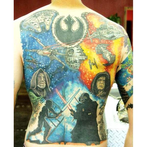 108 Original Tattoo Ideas For Men That Are Epic: Star Wars Tattoo, Star