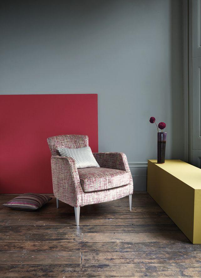 Eine knallige Farbe an der Wand? Warum nicht?  Fotocredits: ROMO