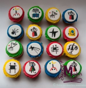 Miro cupcakes