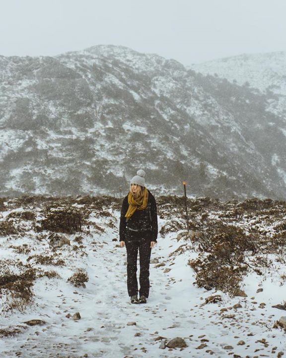 Does it feel like Spring yet? Lauren exploring Cradle Mountain in the Snow. https://instagram.com/p/BYdIKOYhxoK/