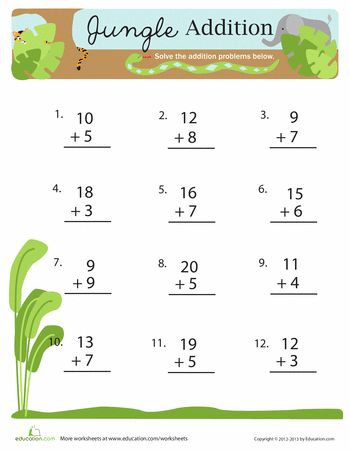 Subtraction Worksheets jungle subtraction worksheets : 17 Best images about worksheets on Pinterest   Disney, Fun facts ...
