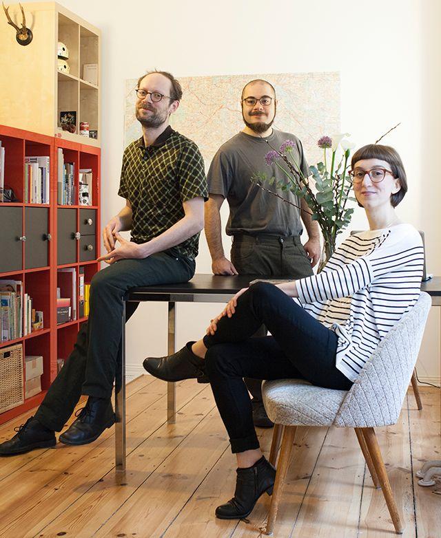 Marianna, Lupo e Alessandro, tre italiani innamorati della capitale tedesca, autori di Berlino Come Desideri, un taccuino di viaggio 3.0.