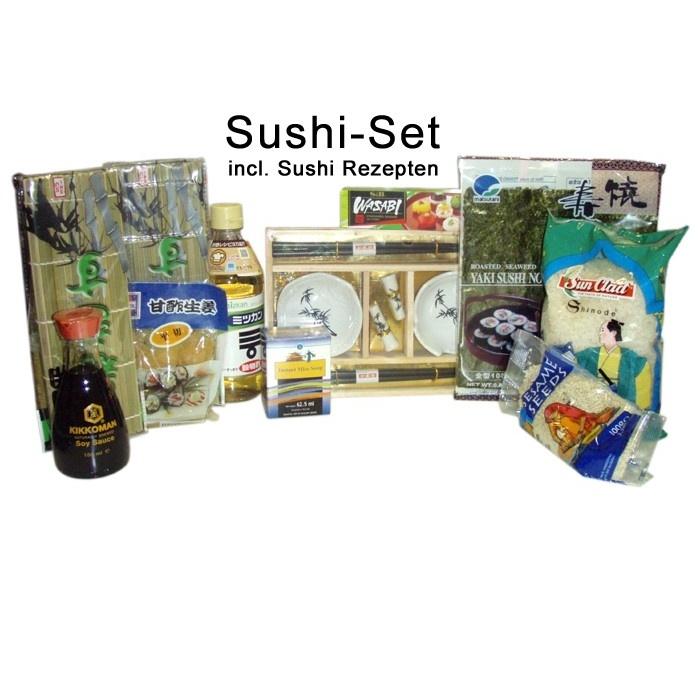 Sushi Set Japan Style Supreme - Rundumpaket - schwarz/weiss $39.50