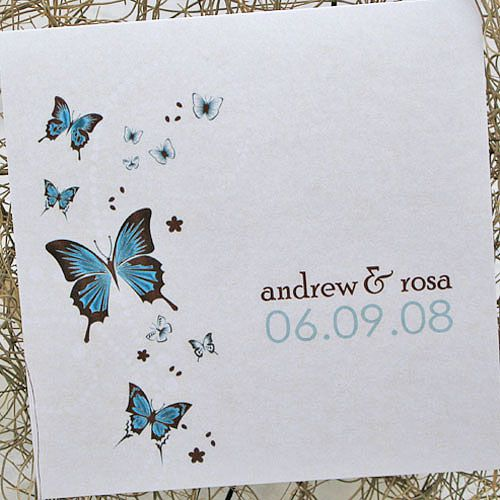 butterfly wedding invitations - Google Search