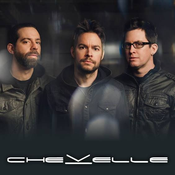 Chevelle at The Joint at Hard Rock Hotel & Casino - Saturday, July 12