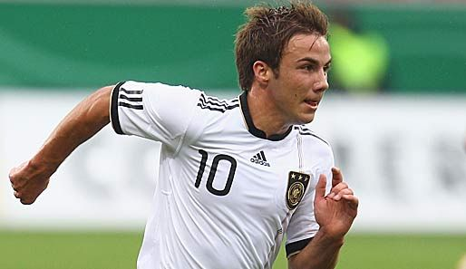 Mario Gotze, the future of Germany's soccer team.