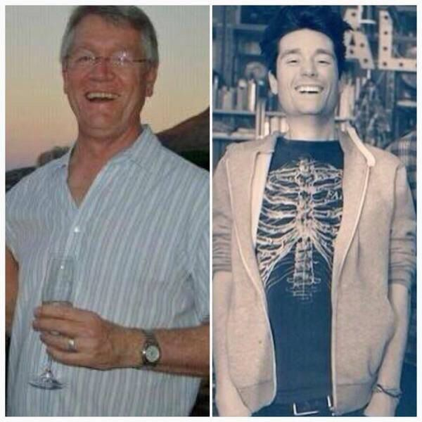 danny and dad >> awww ❤️