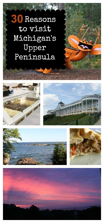 30 reasons to visit Michigan's Upper Peninsula.