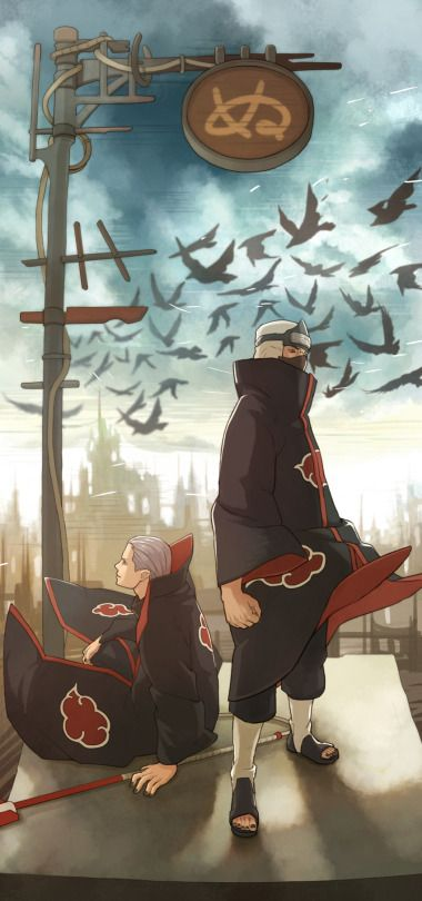 Let your anger out, but don't let it cloud over your senses. Kakuzu and Hidan ❤