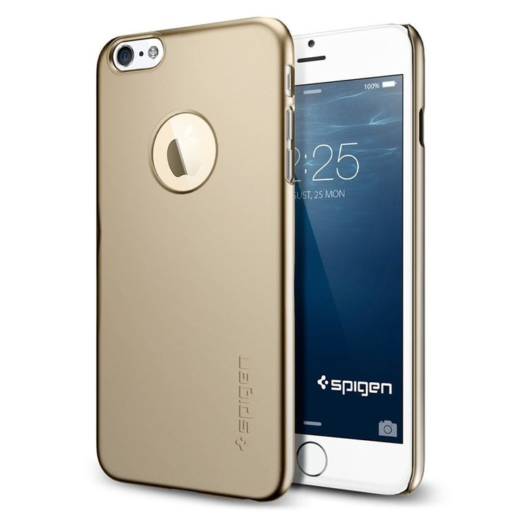 Kryt Spigen Thin Fit A pro iPhone 6 zlatý #AllCases.cz #kryt #case #sleva #iphone #iphone6