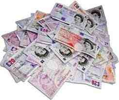 pile of uk money have you got yours yet?