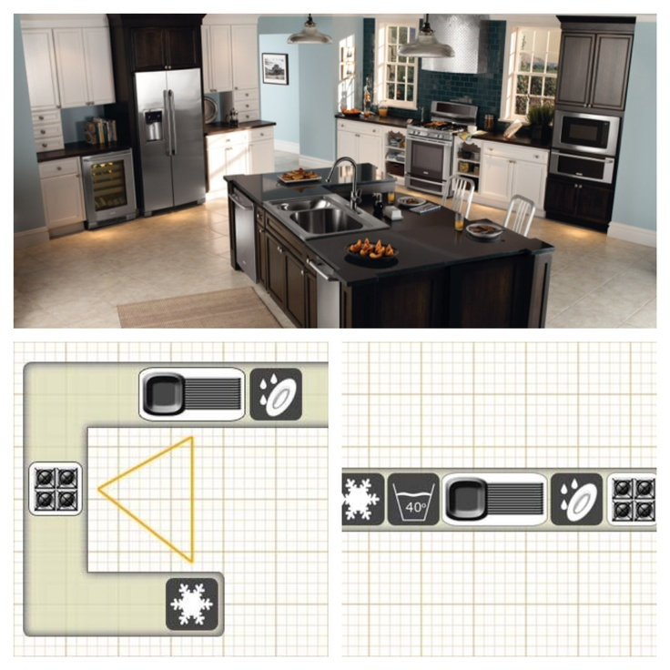 pin by teresa dalrymple on kitchen pinterest most efficient kitchen layout kitchen design photos 2015
