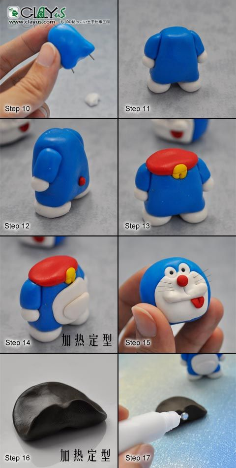 Doraemon_diy_step_3